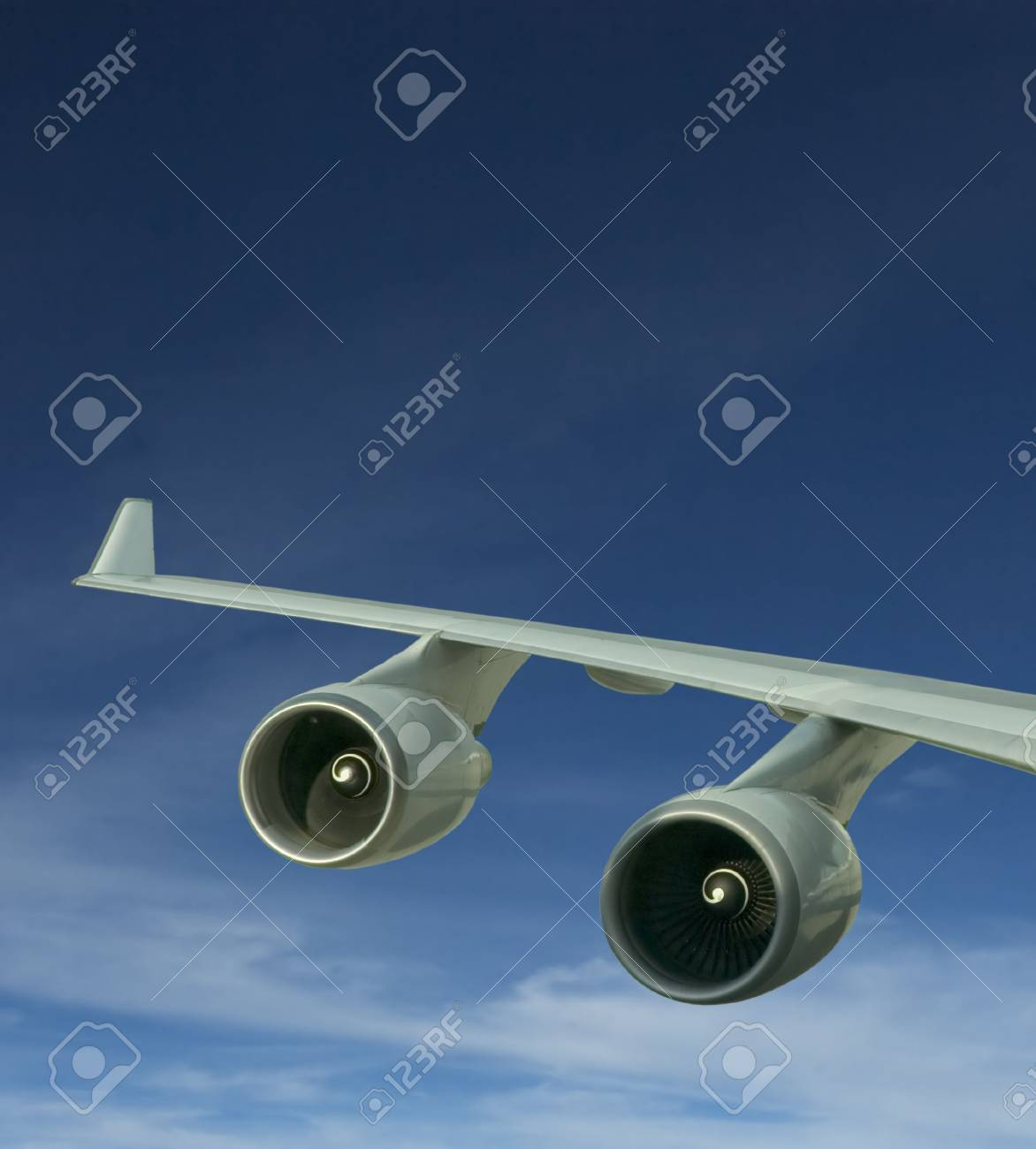 wings and engines of aircraft Stock Photo - 486053