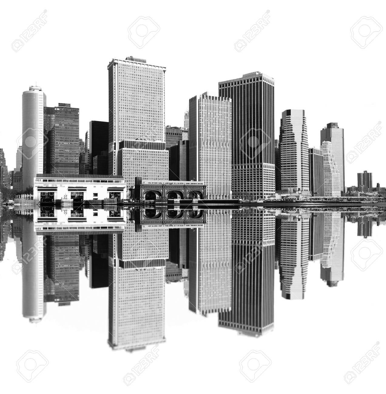 cityscape - new york city skyline Stock Photo - 3029674