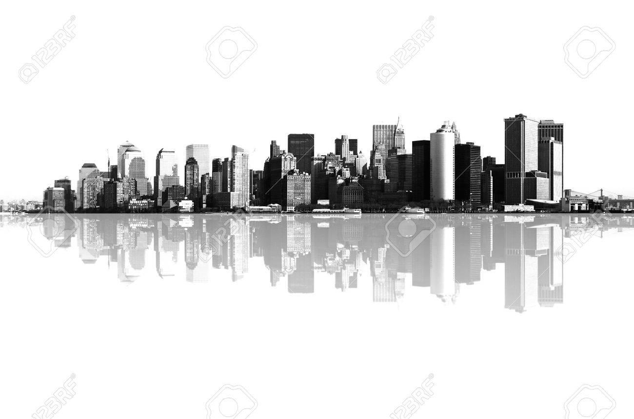 panorama of manhattan, new york Stock Photo - 3057603