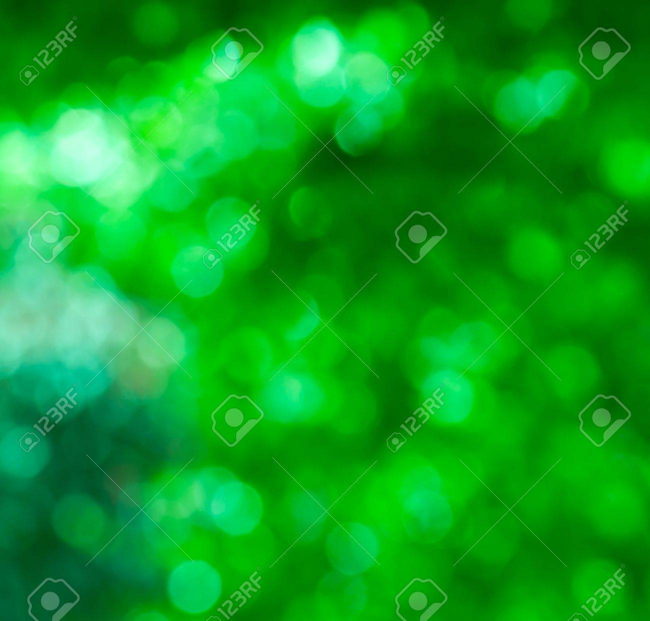 abstract green bokeh, perfect summer background Stock Photo - 9682143