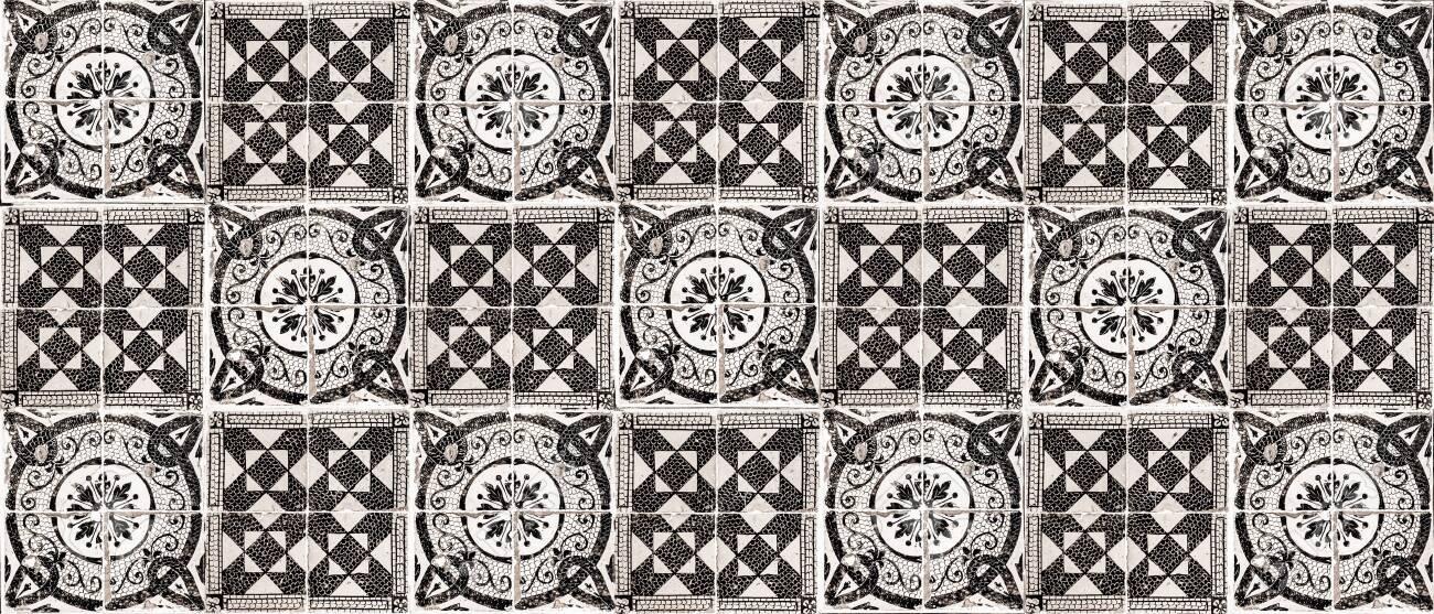 Background of vintage ceramic tiles - 142931005