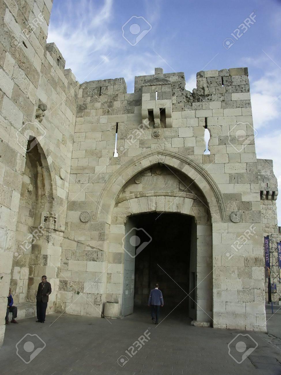 jaffa gate in jerusalem old city
