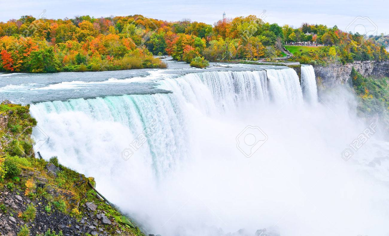 Image result for Niagara fall in autumn