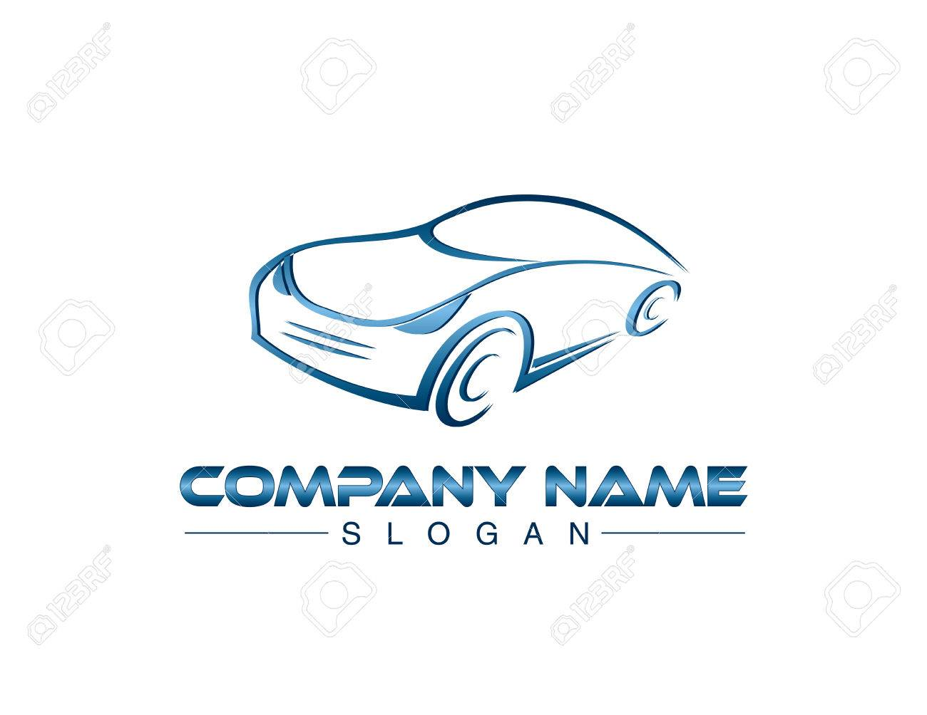 Blue Car Company Logo Royalty Free Cliparts Vectors And Stock