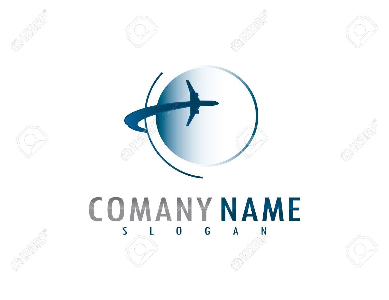 Airplane logo - 68179713
