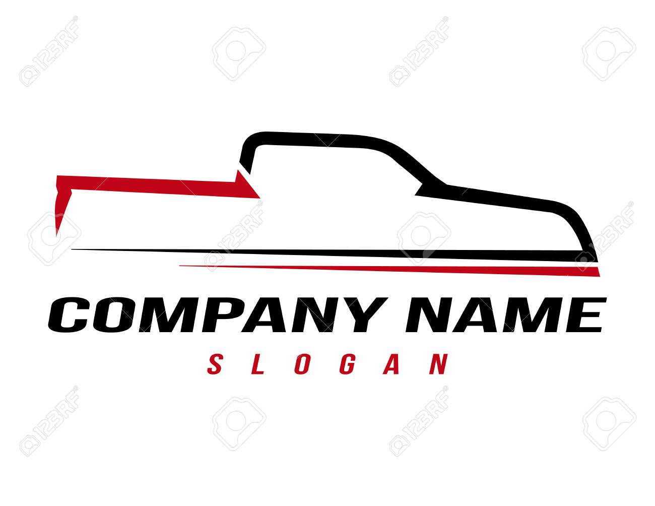 sport truck logo royalty free cliparts vectors and stock rh 123rf com truck logos and names truck logo maker