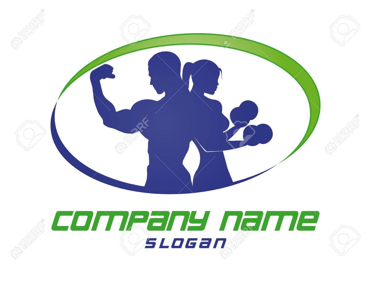 Fitness club logo - 80942872