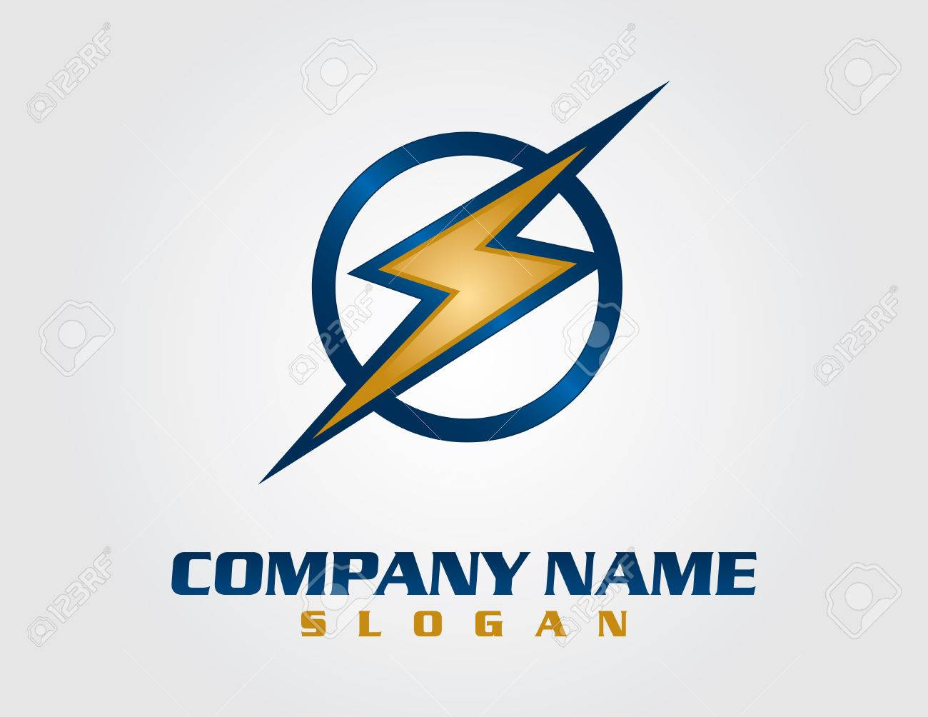 Electrical Company Logo Royalty Free Cliparts, Vectors, And Stock ...