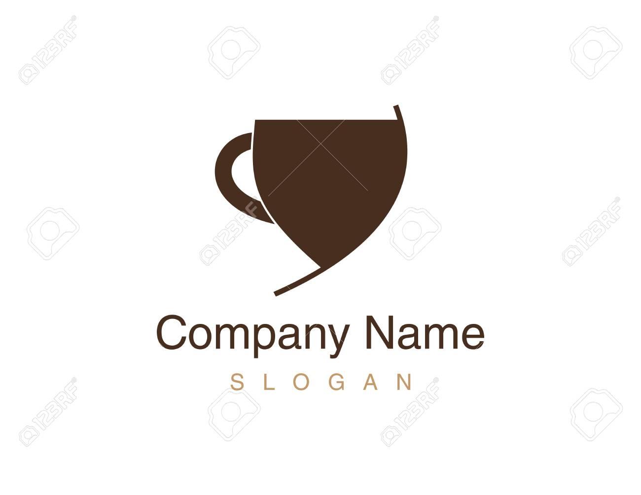 Cup coffee illustration. - 93055242