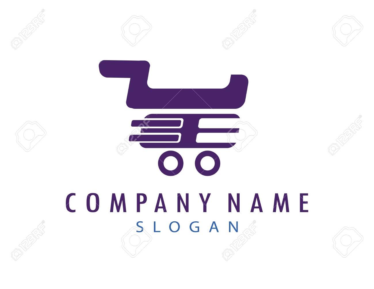 Shopping cart logo - 140183322