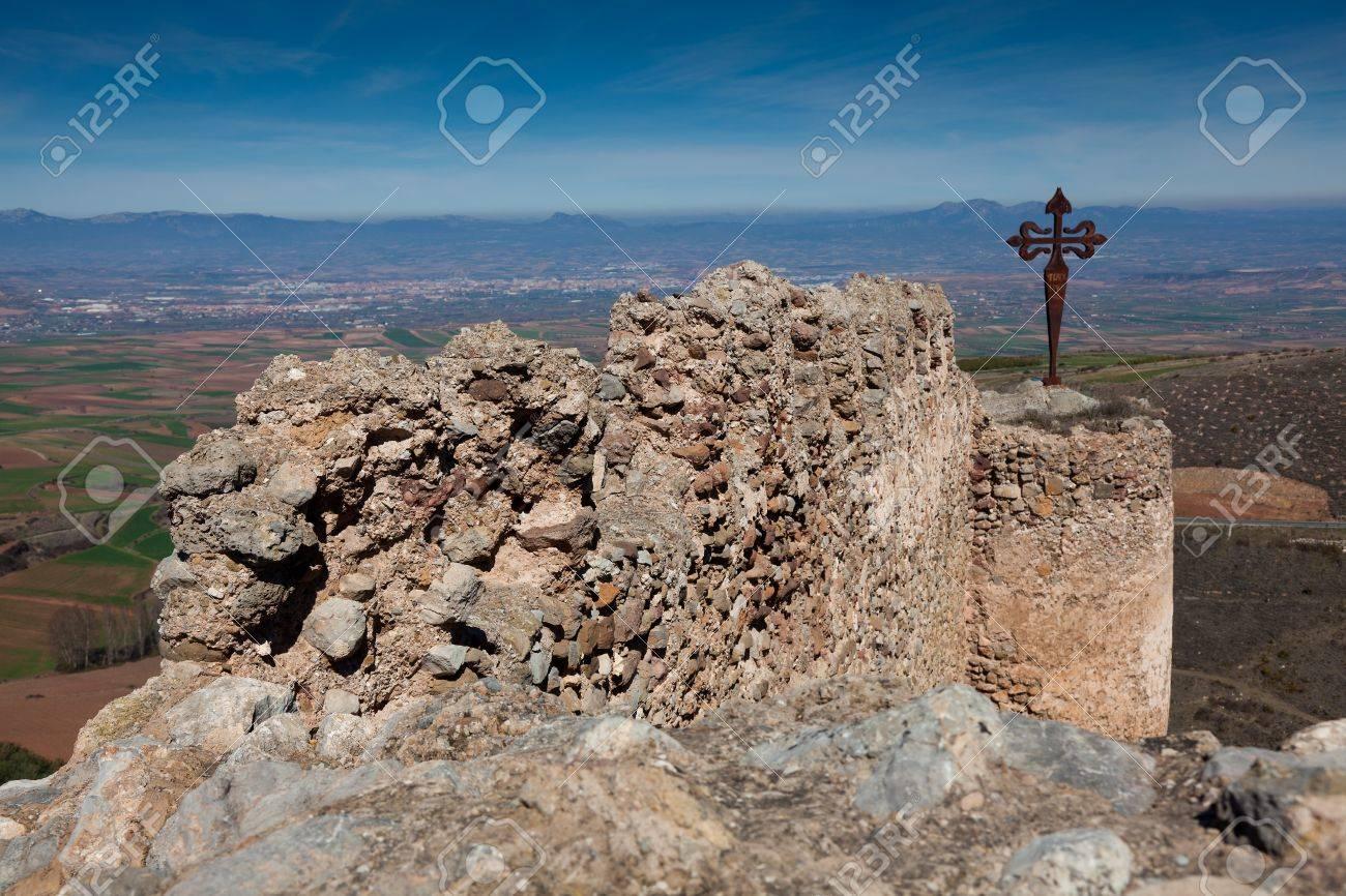 Castle of Clavijo, La Rioja, Spain Stock Photo - 9140959