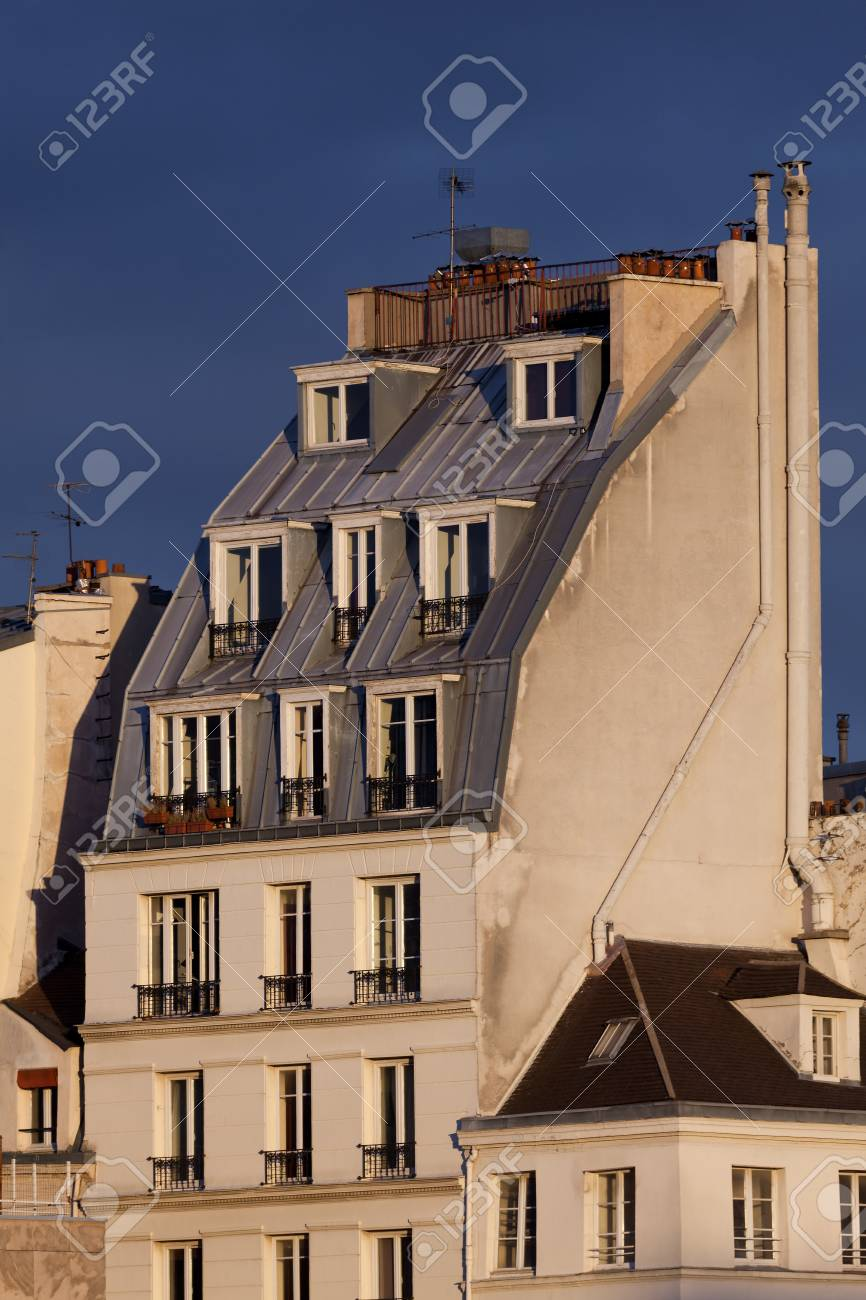 Architecture of Paris, France Stock Photo - 17007170
