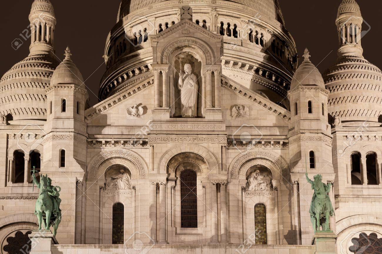 Sacre Coeur, Montmartre, Paris, France Stock Photo - 17007220