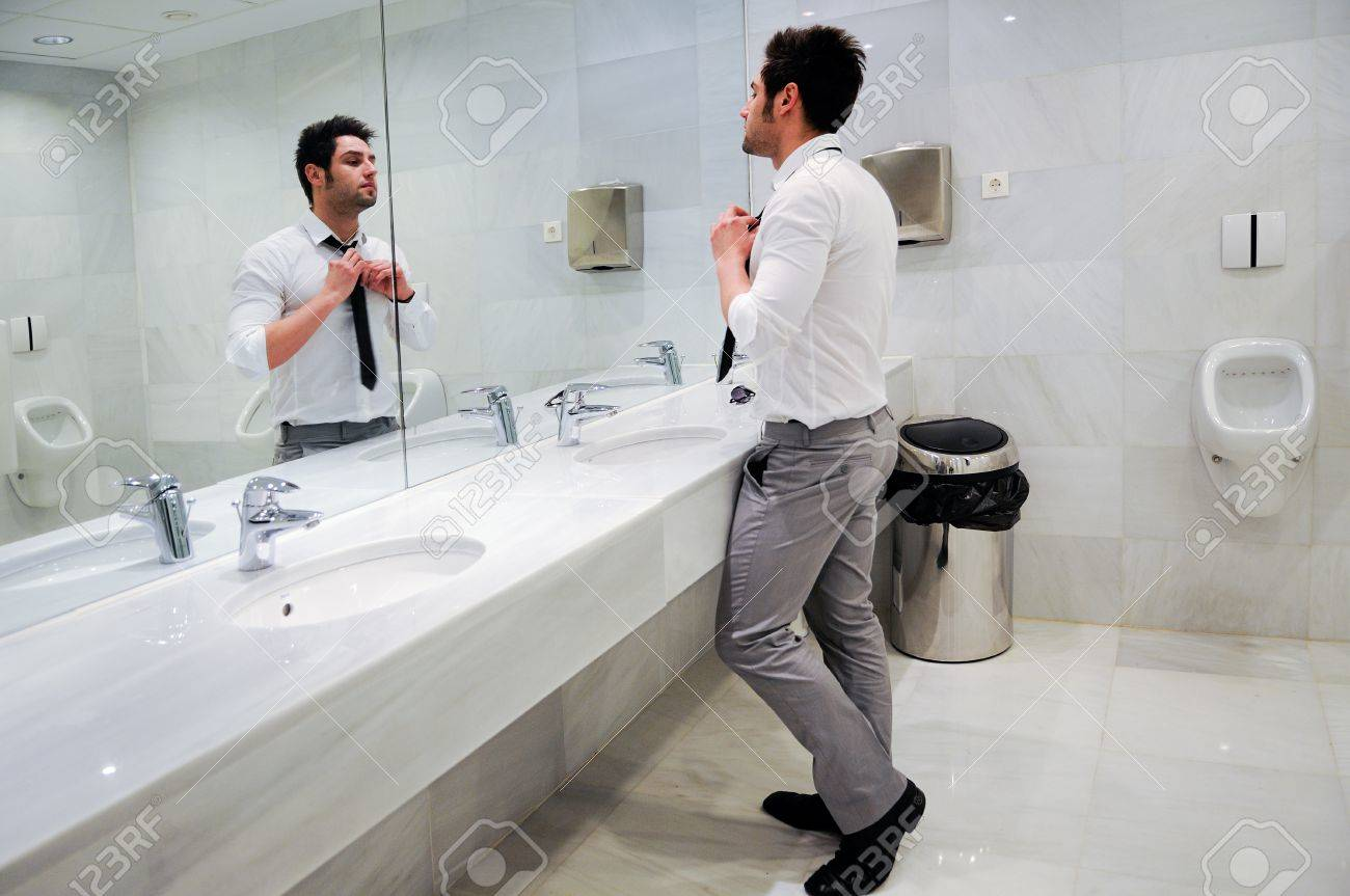Spiegel toilette