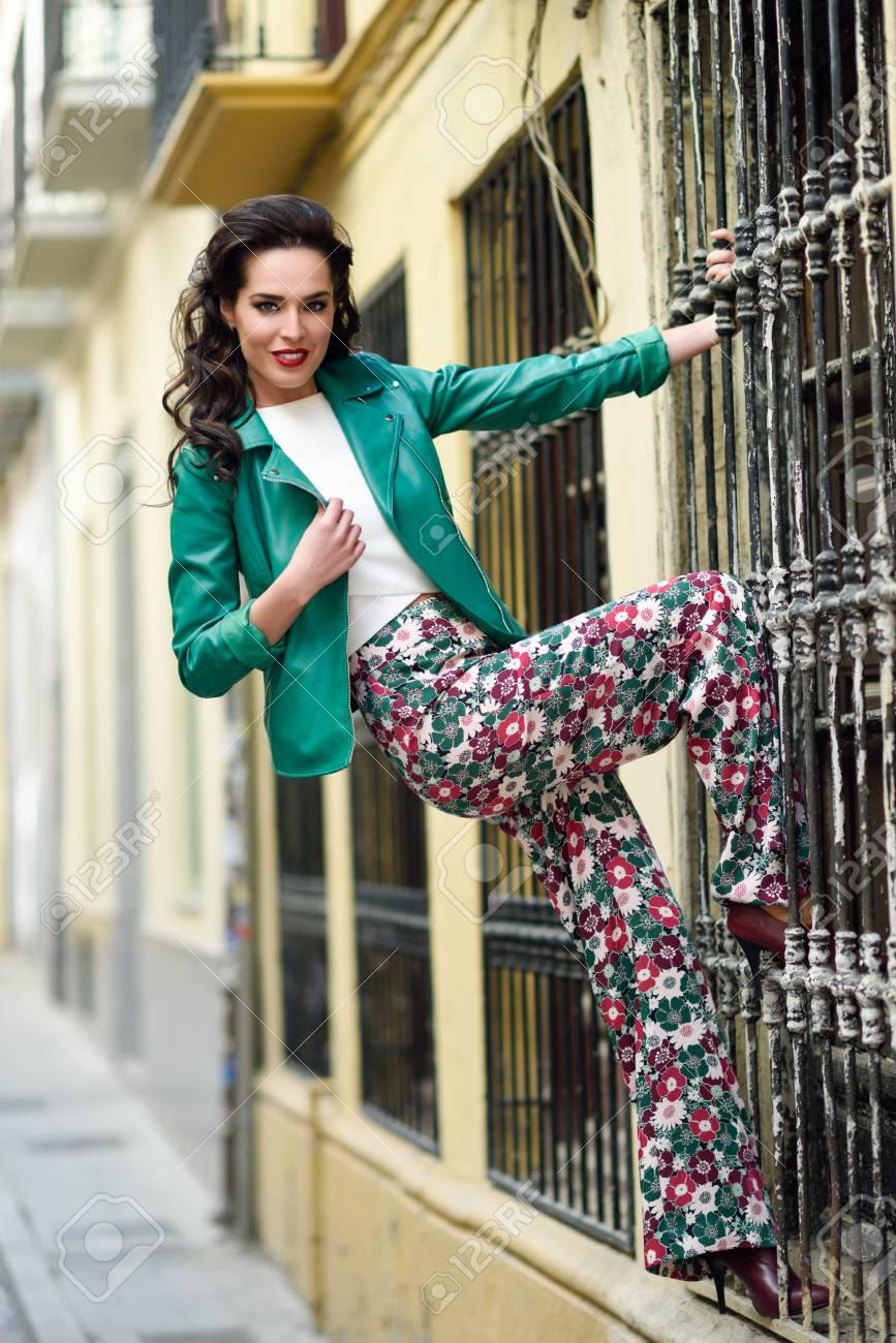 veste a fleur femme avec leggings