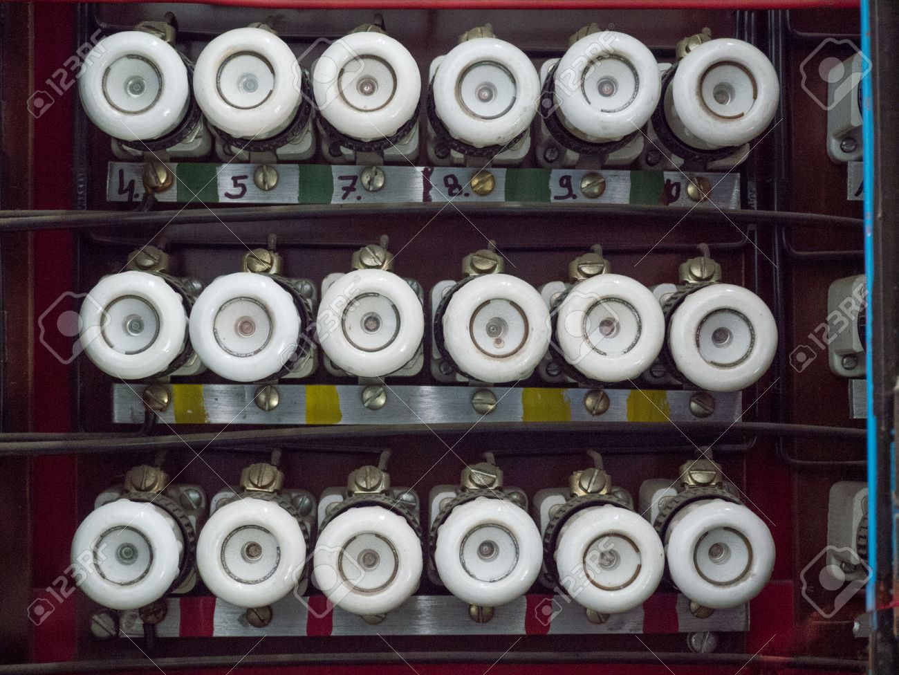 32788929 old fuse box Stock Photo old fuse box stock photo, picture and royalty free image image  at edmiracle.co