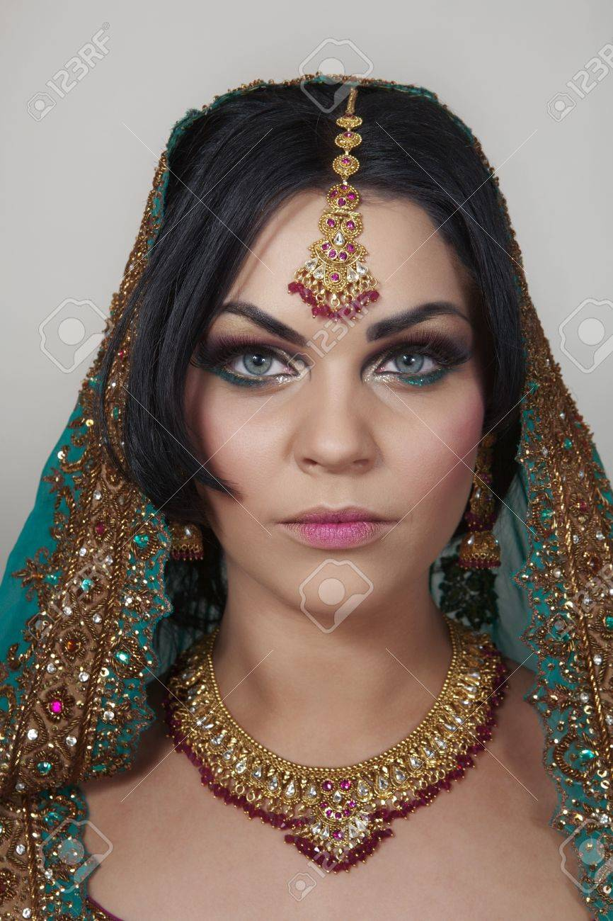 Woman attractive indian What type
