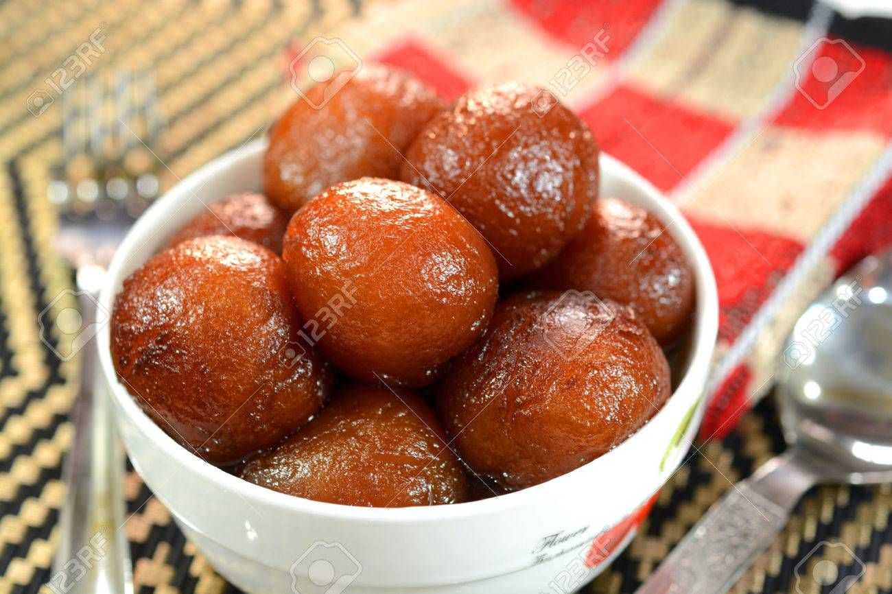 Gulab Jamun Is An Indian Dessert Made Out Of Condensed Milk Balls Stock Photo Picture And Royalty Free Image Image 65941783