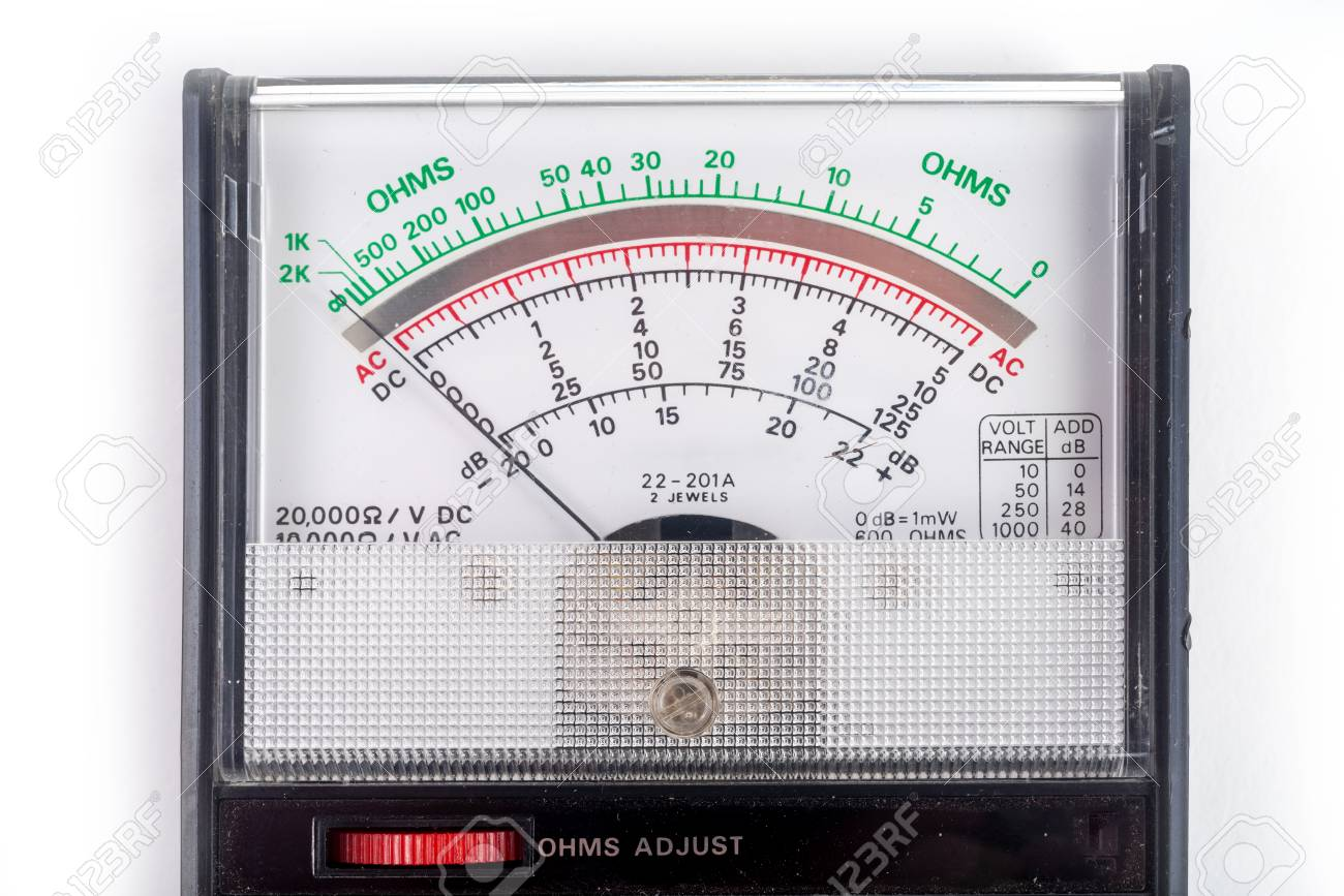 Analog multimeter, that combines several measurement functions in one unit. Vintage model - 125226012