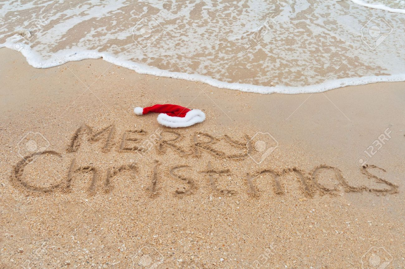 Image result for beach christmas