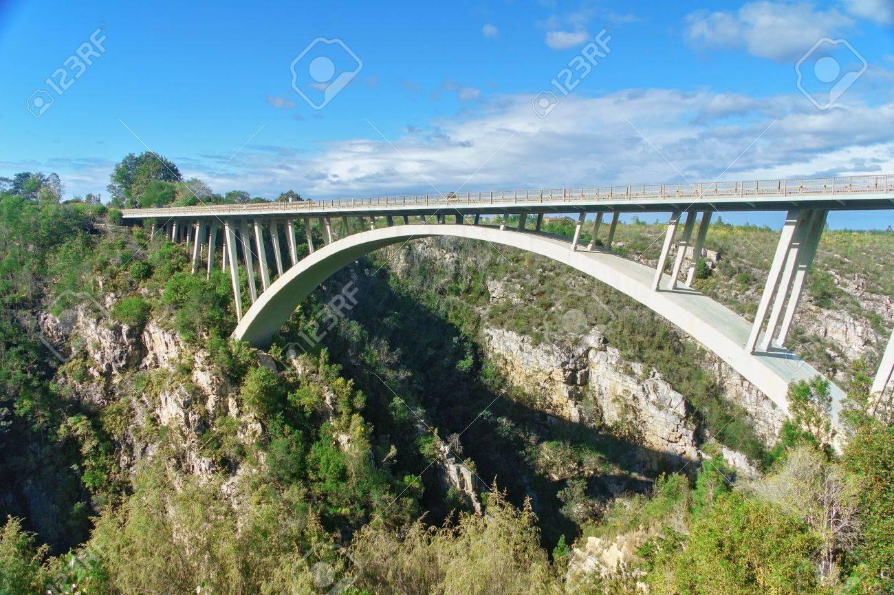 Bridge in Tsitsikamma national park, Garden route, South Africa - 22013091