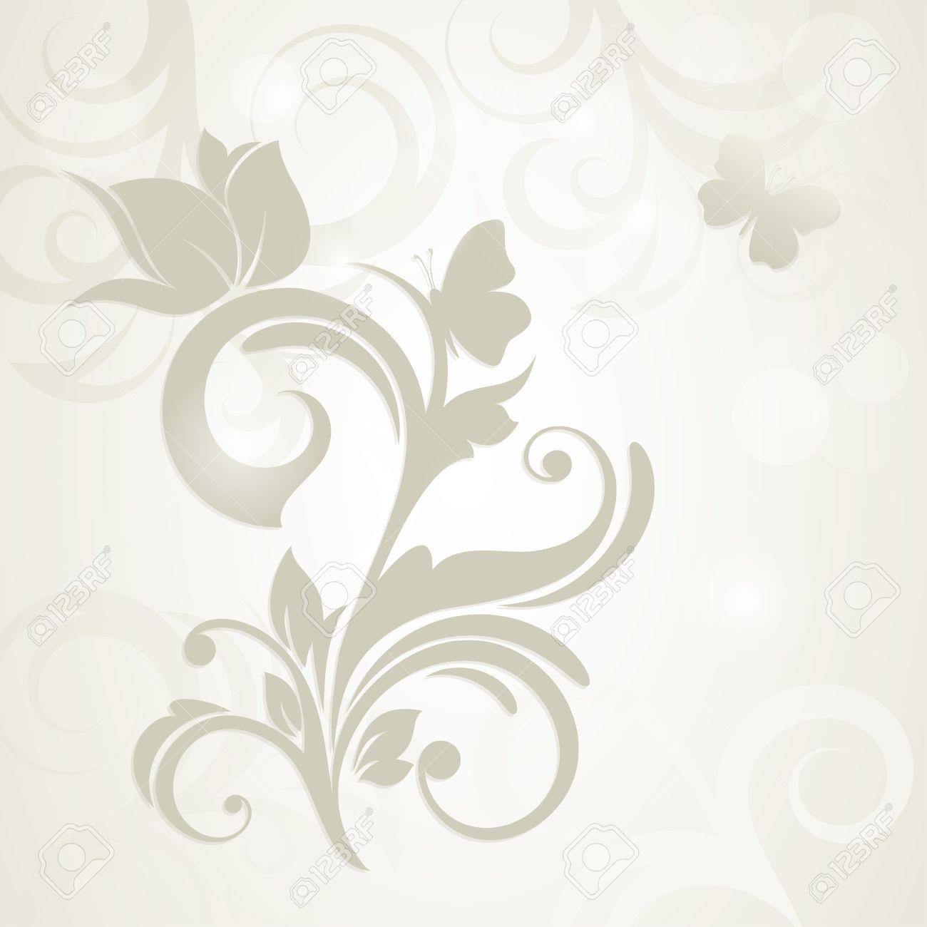 Tarjeta O Invitación De Boda Con Flora Fondo Saludo Modelo De La Elegancia Tarjeta De Resumen De Flores En Tarjeta De Estilo Vintage Para Las Madres