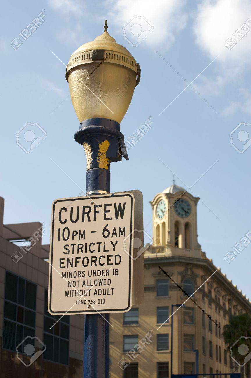 essays city curfews