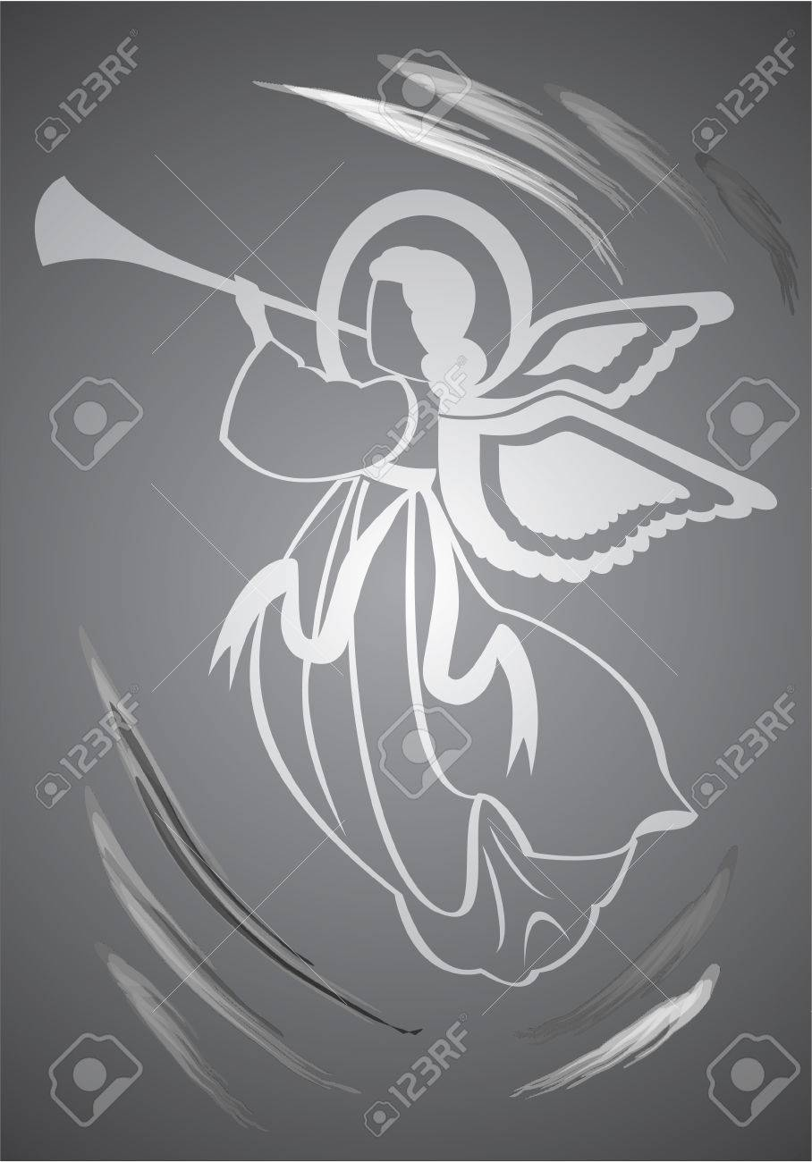 Angel, holy figure Stock Vector - 2413912