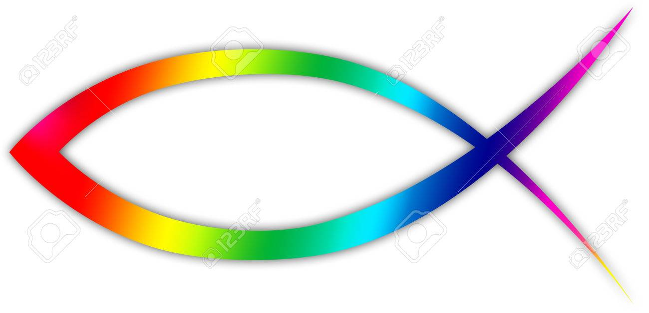 A Christian Fish Symbol Stock Photo Picture And Royalty Free Image