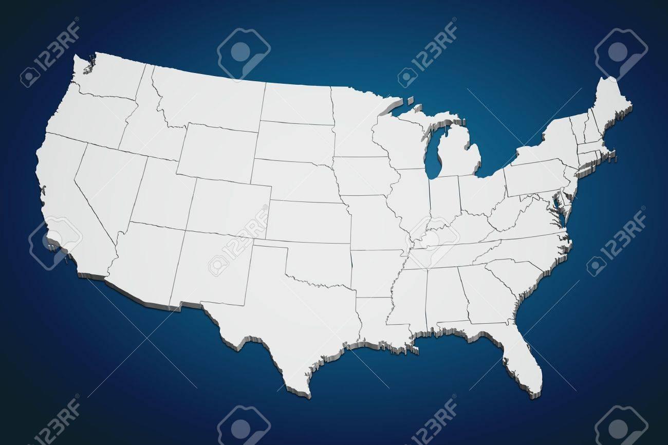 Continental Us Map Map Of Att Stadium Map Of The Virgin Islands - Map of continental us