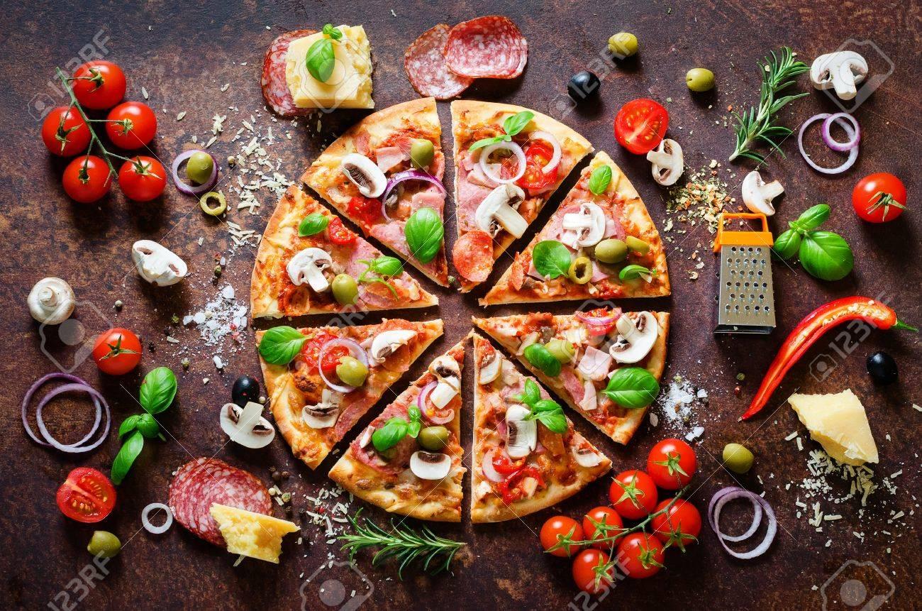 Especias Para Cocinar | Ingredientes Y Especias Para Cocinar Deliciosa Pizza Italiana