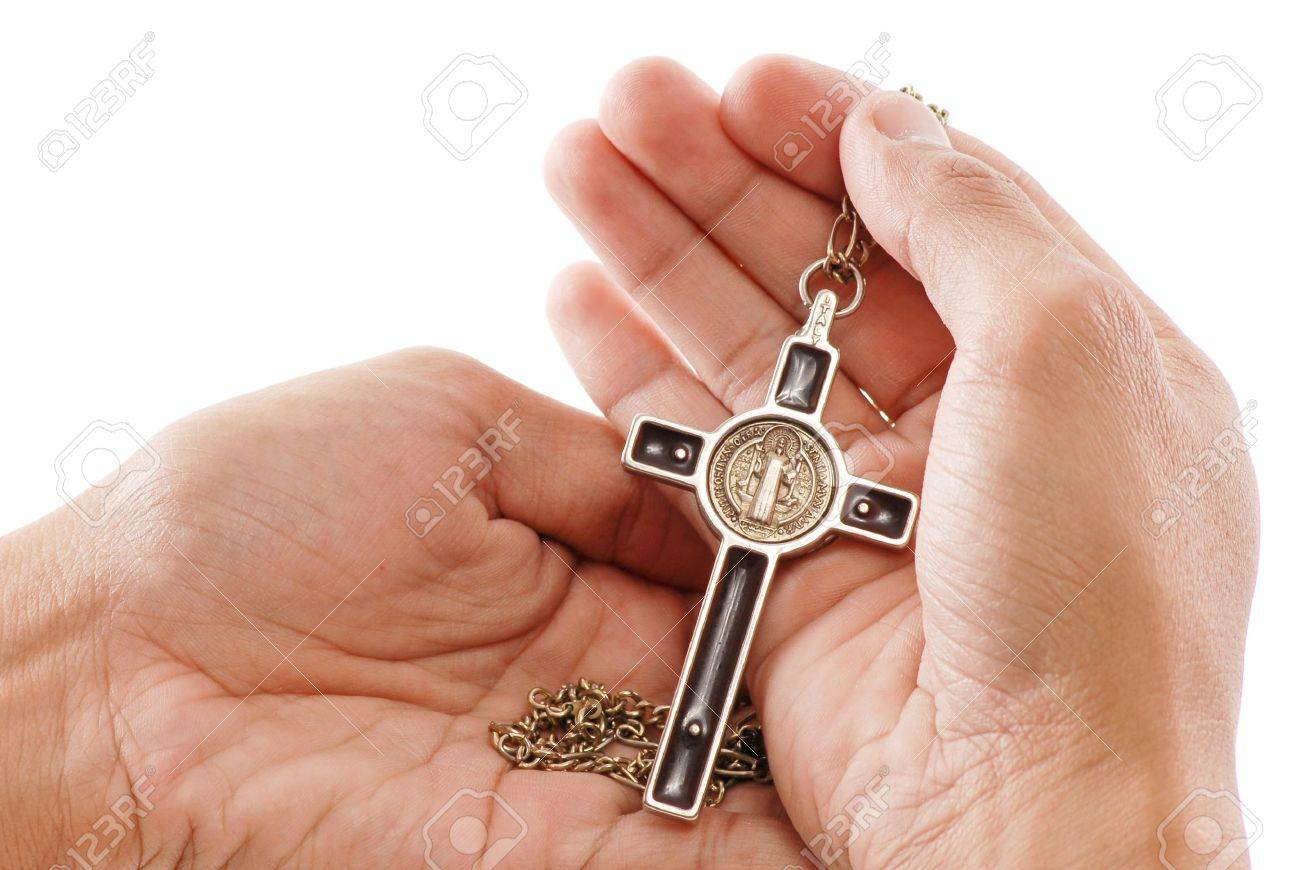 Holding Faith In Your Hands Stock Photo - 9747627
