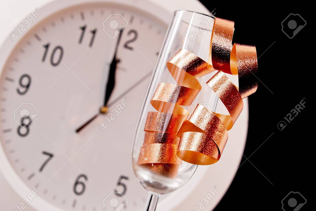 The New Years Count Down Concept Image Stock Photo - 11536448