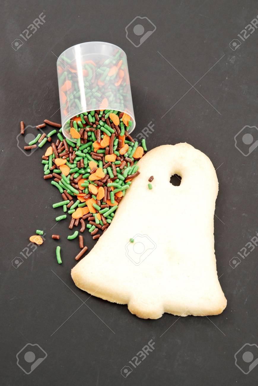 Sugar Cookie with Fun Confetti Sprinkles Stock Photo - 11903607