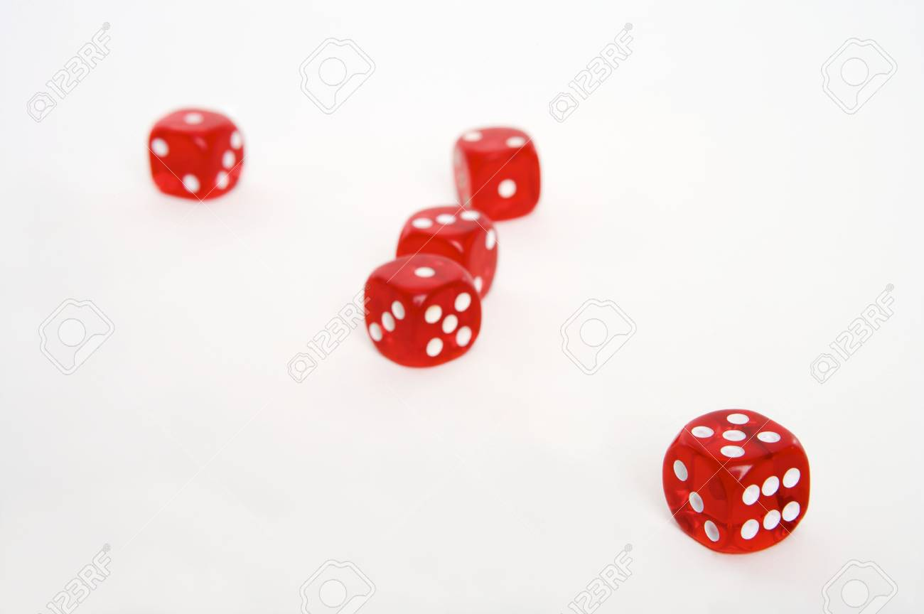 playing dice Stock Photo - 4271835