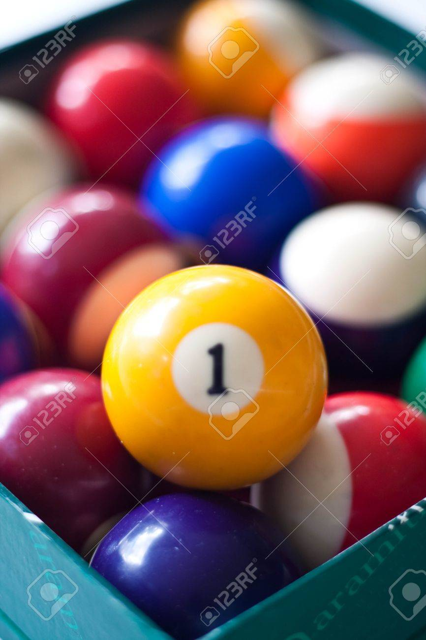 ball number one Stock Photo - 7419688
