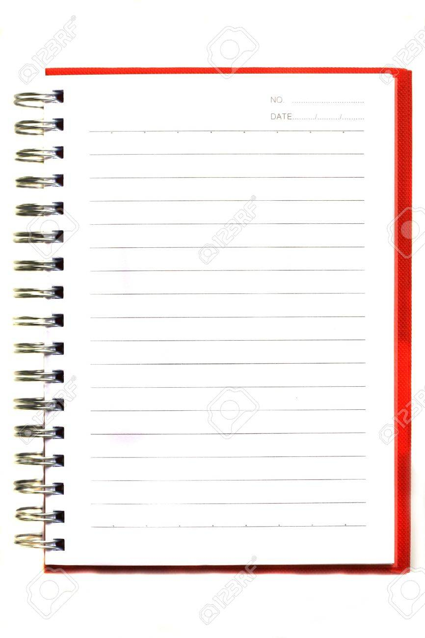 notebook Stock Photo - 8490269