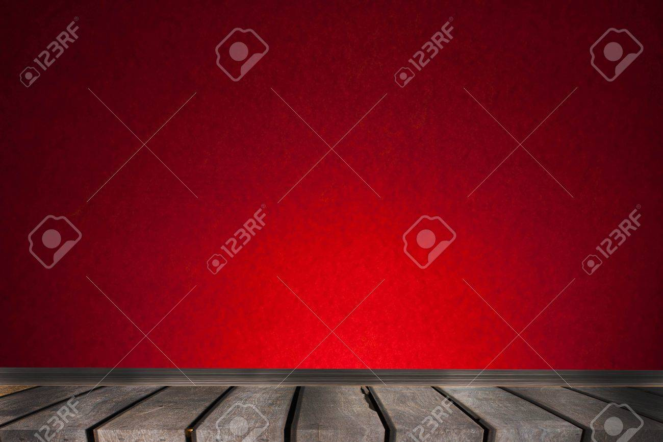 red wall Stock Photo - 9508732