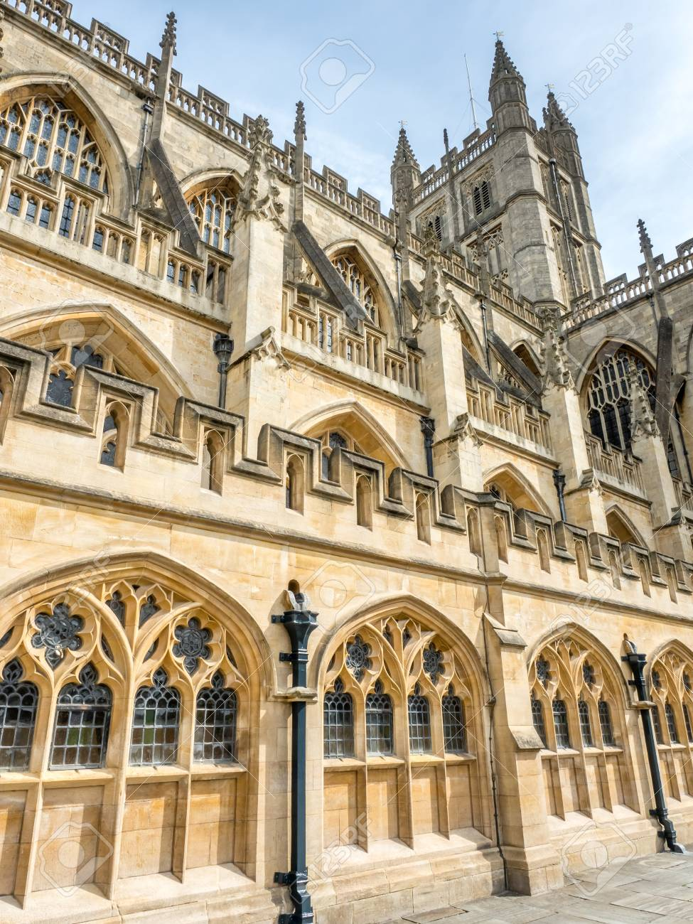 The Abbey Church Of Saint Peter And Paul Known As Bath
