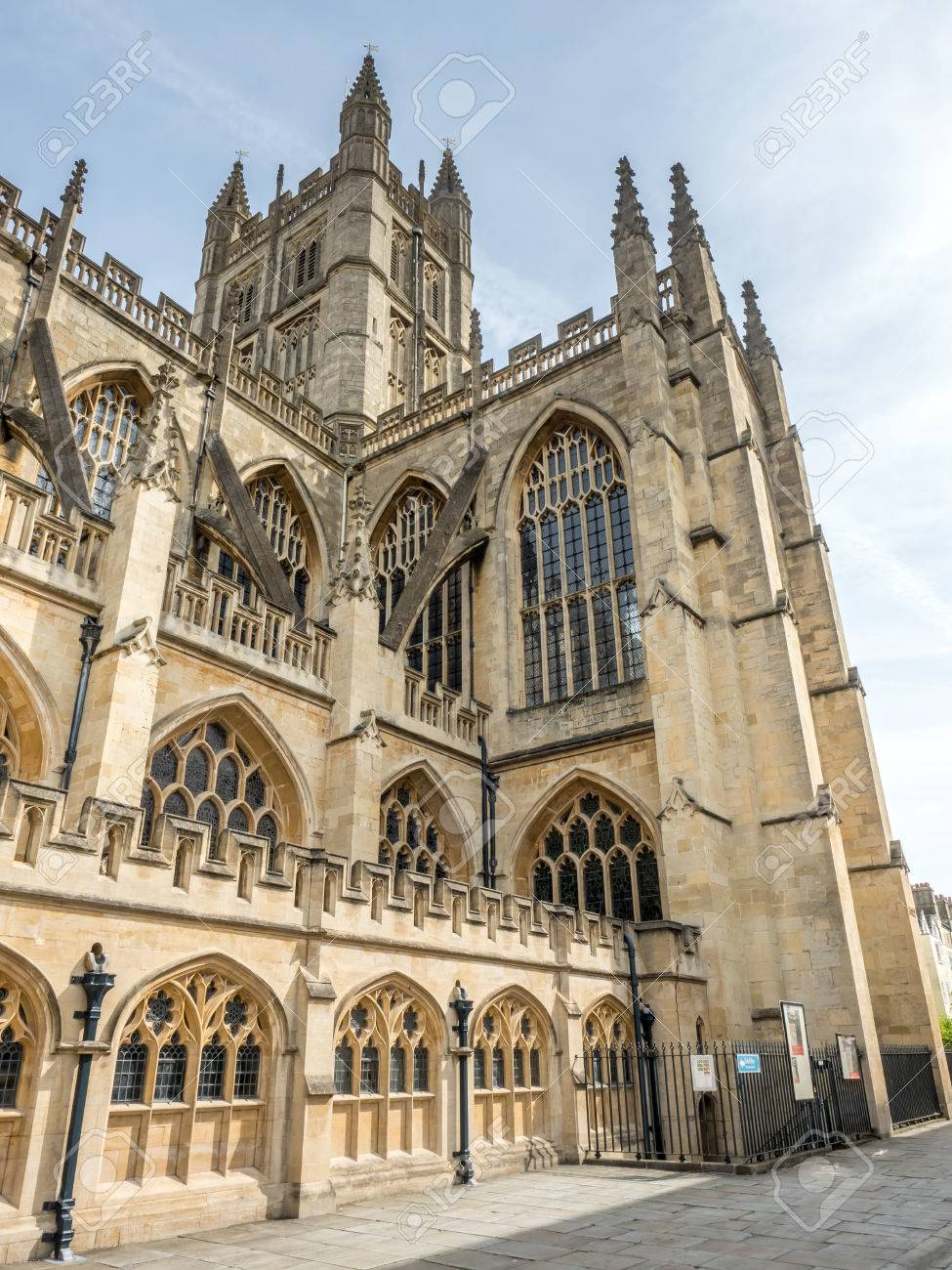 The Abbey Church Of Saint Peter And Paul Known As Bath English