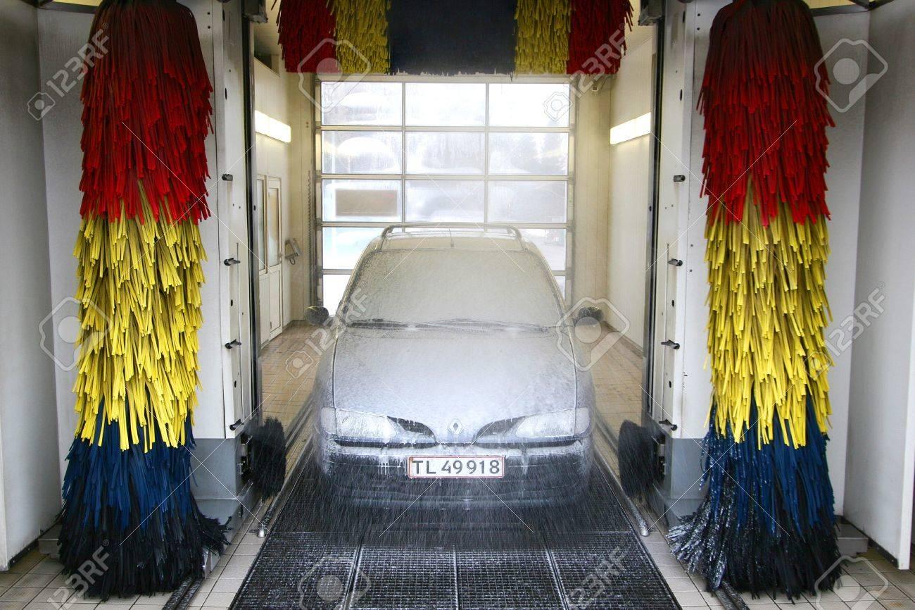 lave-auto Banque d'images - 10067534