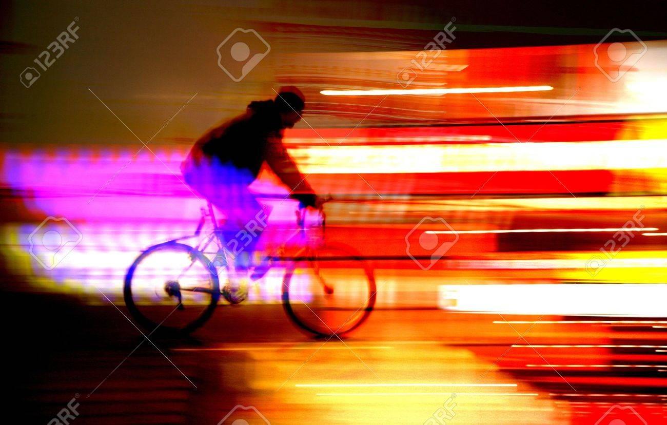 la nuit dans la rue d'une ville anvers en belgique Banque d'images - 11752407