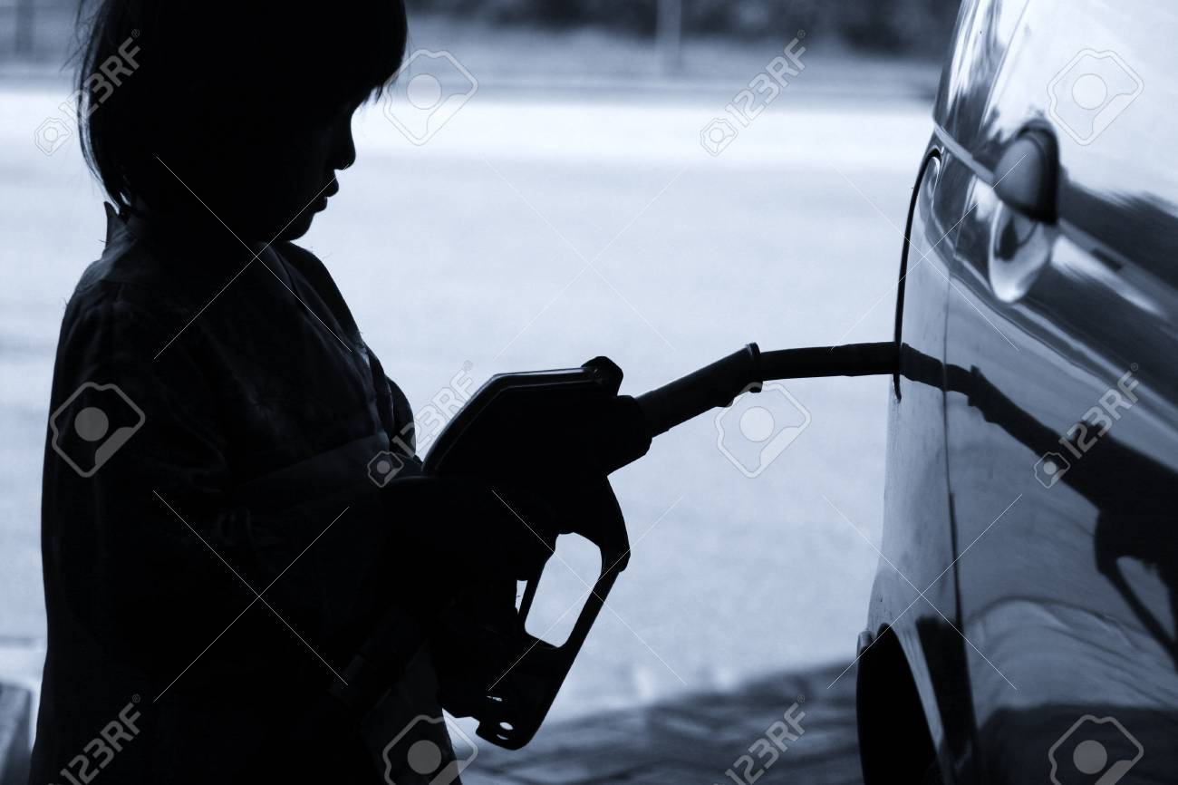 Fueling station in Denmark Stock Photo - 12137355