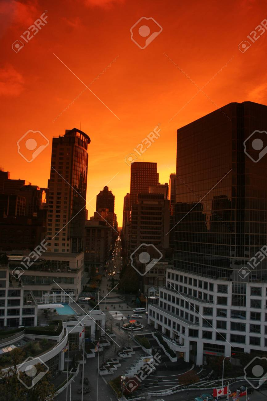 modern buildings, shapes lines etc in vancouver canada Stock Photo - 12616928