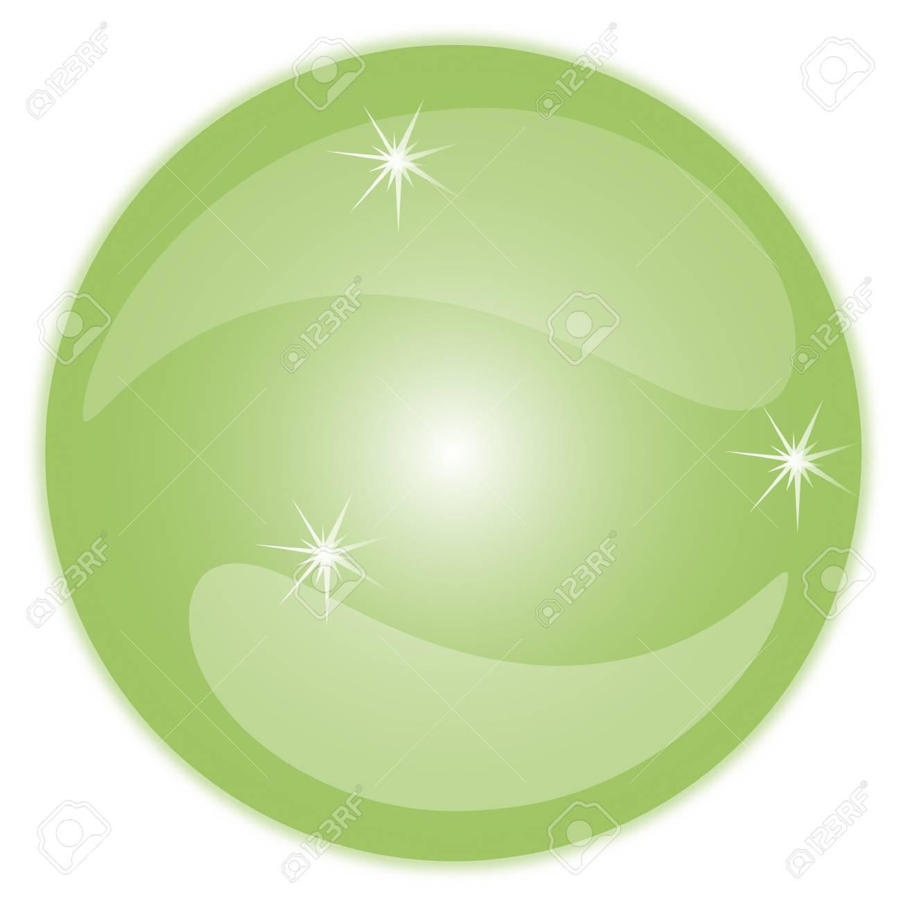 Crystal Ball Bubbles 3D Stock Vector - 17397513