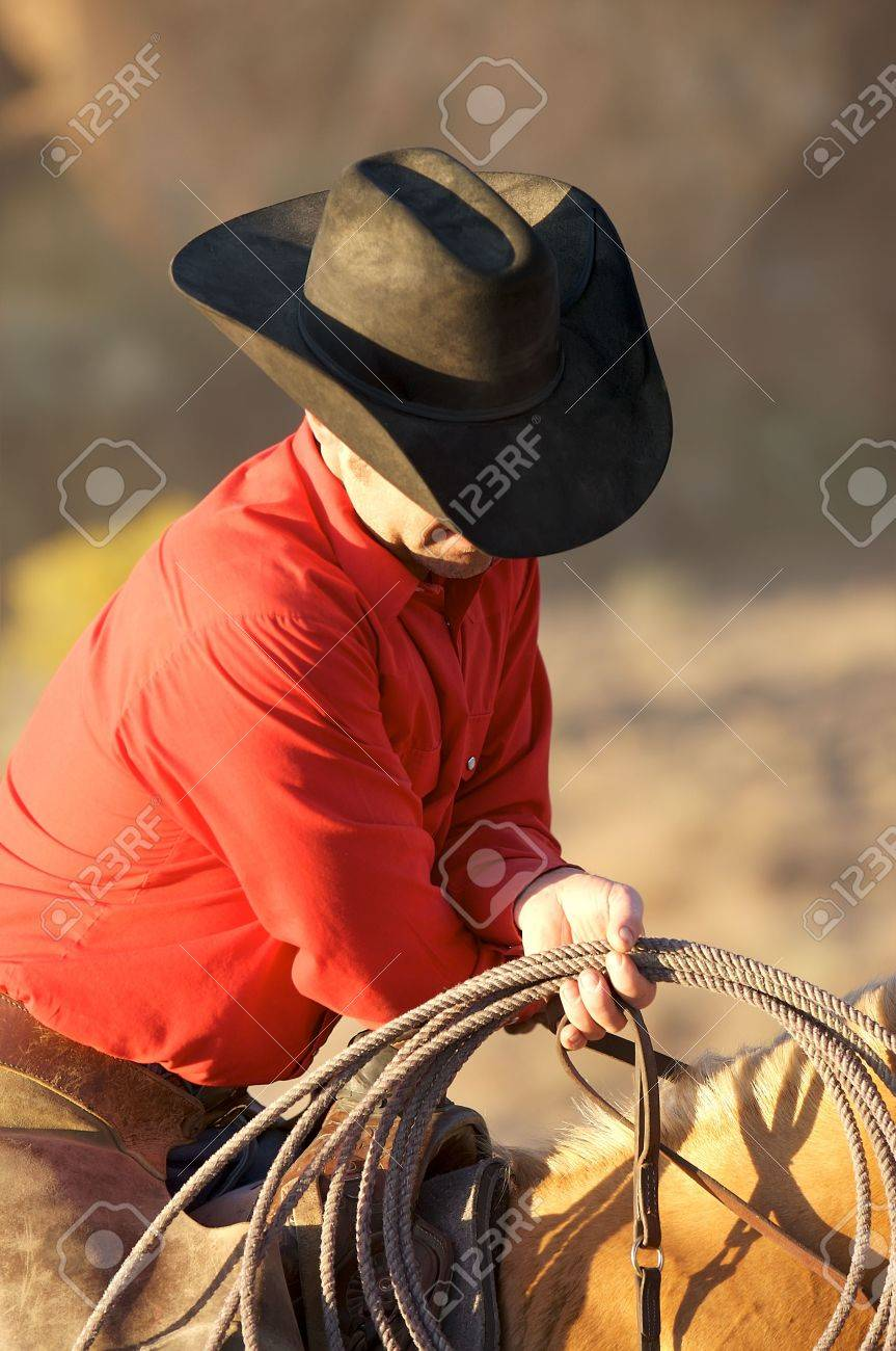 Resting Cowboy Stock Photo - 2198524