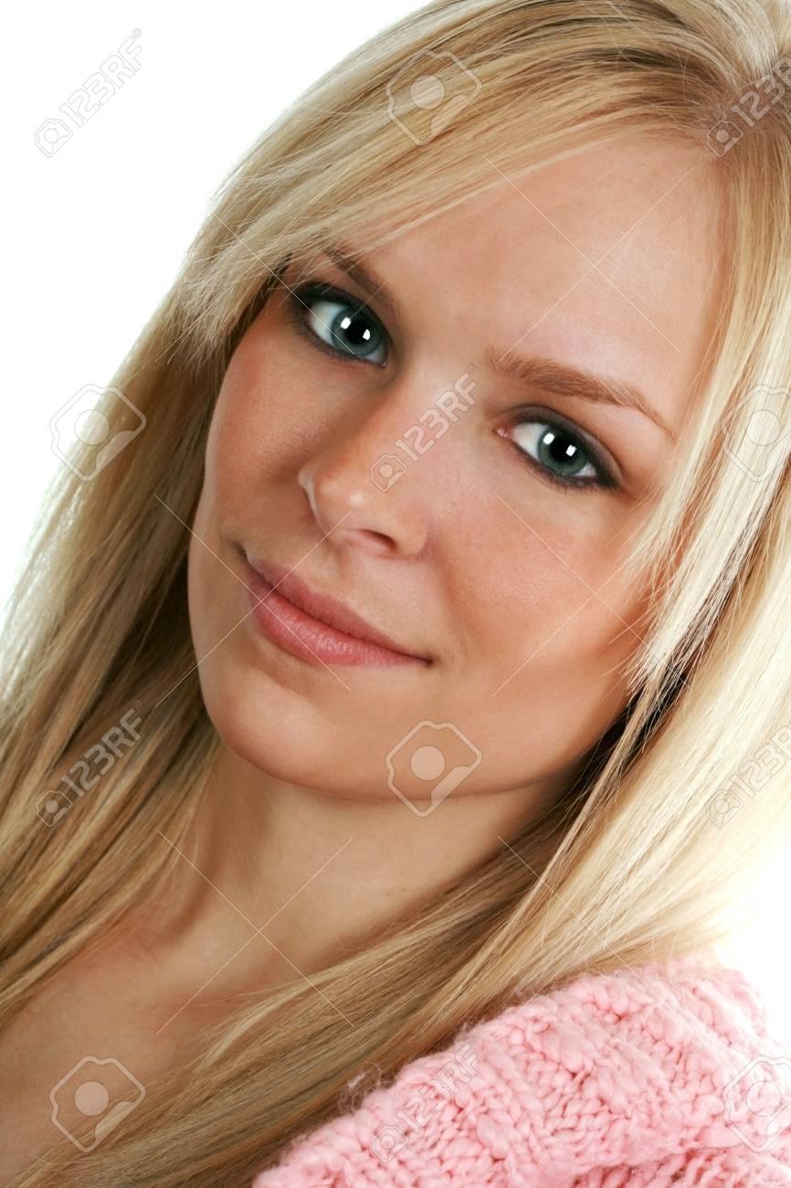 beautiful blond girl Stock Photo - 3866560