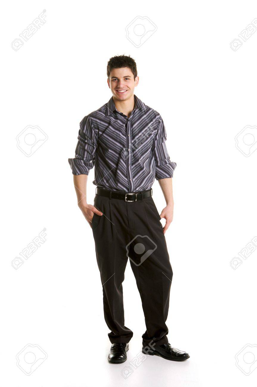 Male Business Model Stock Photo - 4344691