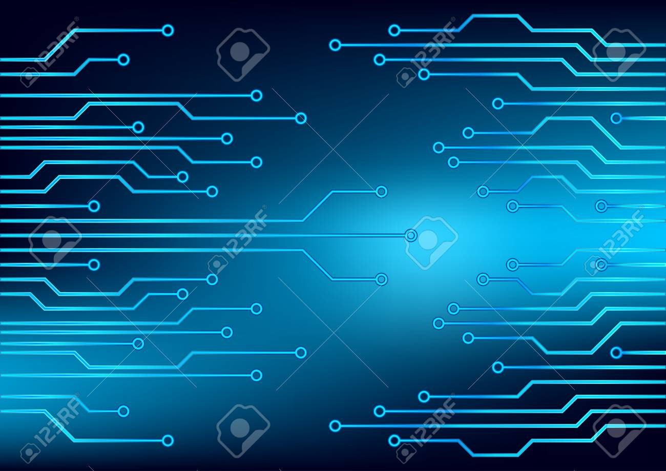 Electrical Circuit . Eps 10 Vector Illustration Royalty Free ...