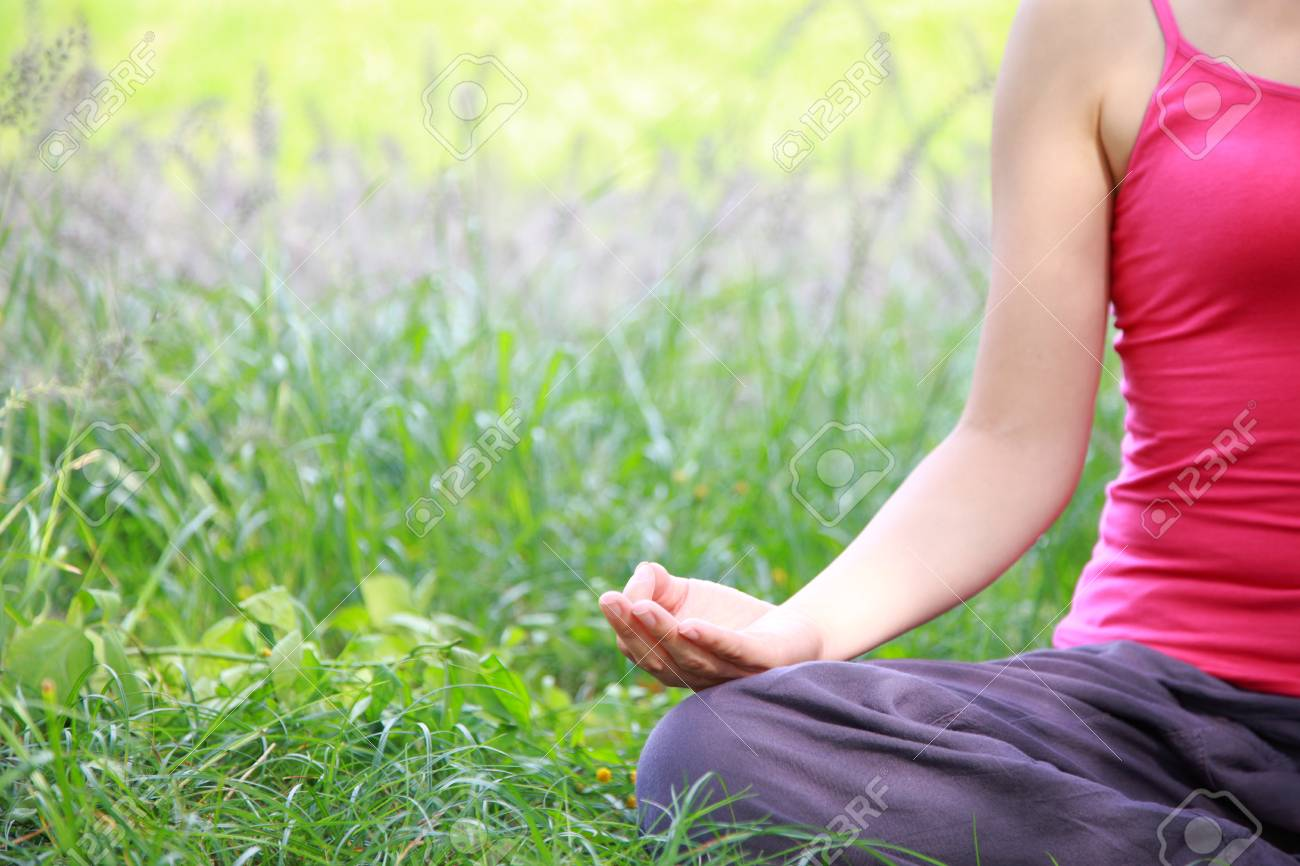 Outdoor Yoga Stock Photo Picture And Royalty Free Image Image 28388367